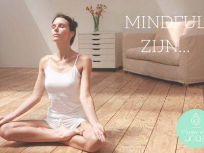 mindful zijn