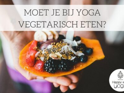 yoga vegetarisch