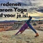7 redenen waarom Yoga goed voor je is!