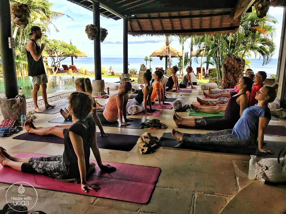 Yogavakantie Bali