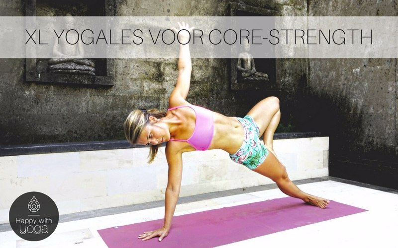 Core strength Yoga practice