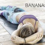 Bananasana, een stretch voor de zijkant van het lichaam!
