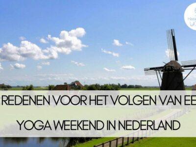 yoga weekend in nederland