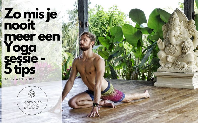 yoga sessie