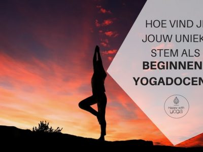 beginnend yogadocent