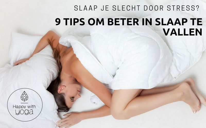 tips om in slaap te geraken