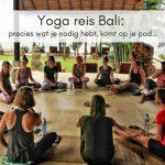 Yoga reis Bali: precies wat je nodig hebt, komt op je pad…