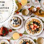 Moet je eten voor je Yogapractice? (incl. video)