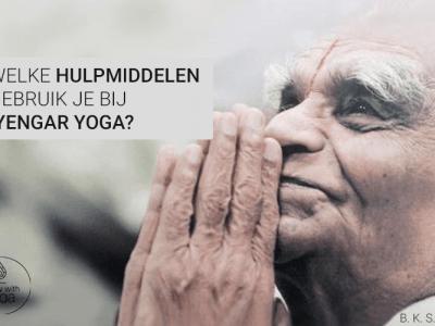 hulpmiddelen bij iyengar yoga
