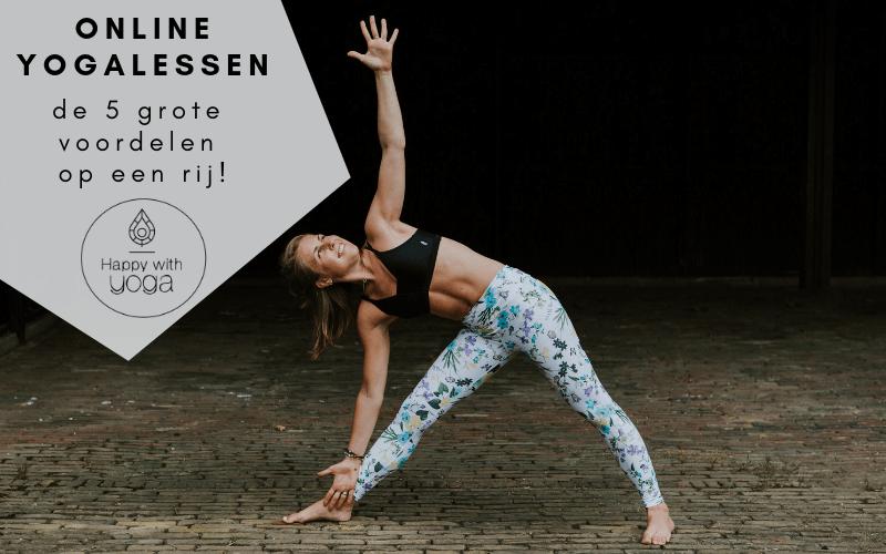 online yogalessen