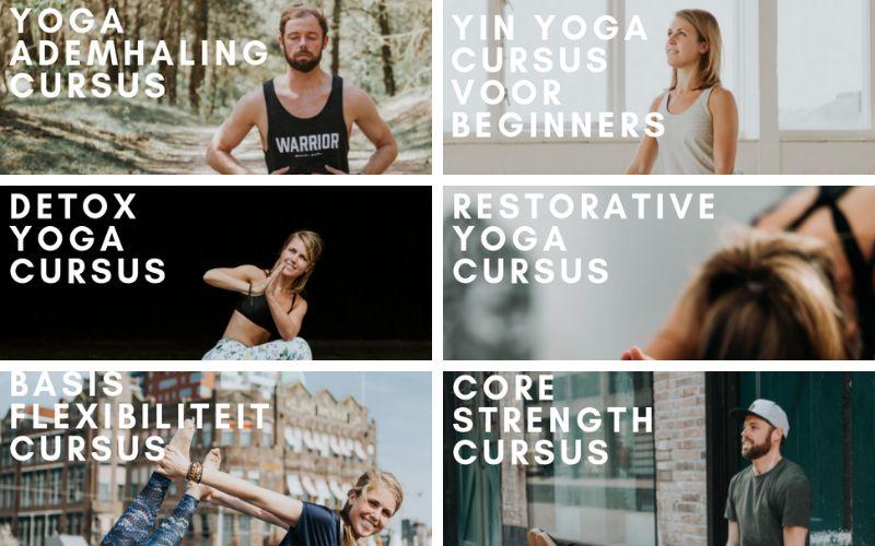 online yoga cursussen
