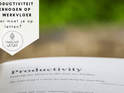 Productiviteit verhogen op de werkvloer