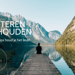 Mediteren volhouden – met deze 5 tips houd je het leuk!