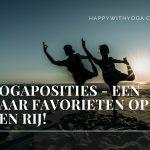 Yogaposities – een paar favorieten op een rij!