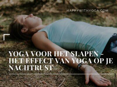 Yoga voor het slapen
