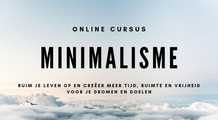 Online cursus minimalisme