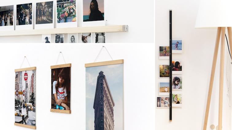 flur-deko-ideen-dekorieren-gestalten-flurgestaltung-bilderleiste-poster