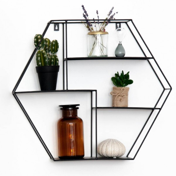 Wall Shelf HEXAGON - Wandregal