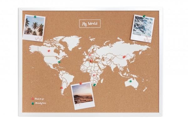 Pinboard CORK World Map