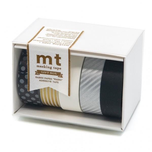 Masking Tape MONOTONE - 5er Set, Washi
