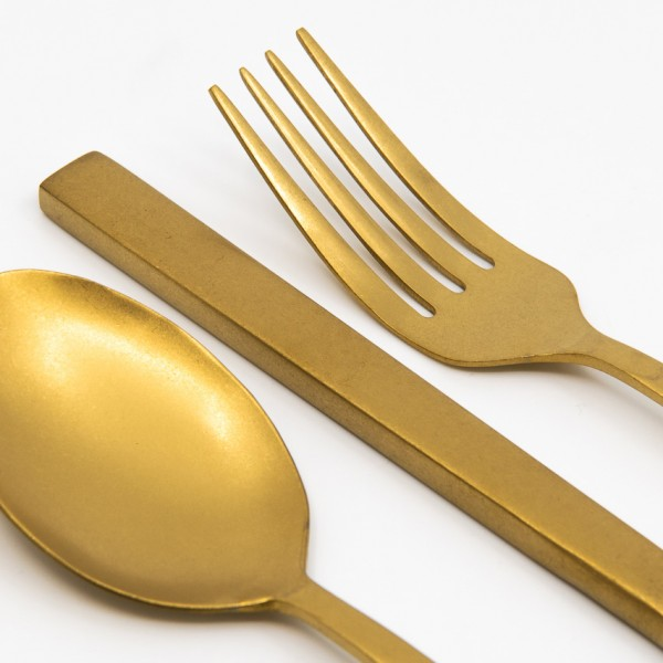 Cutlery Set Gold