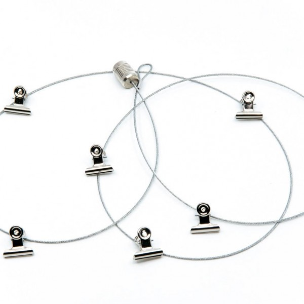 Magnetic Photo Rope CLIPS