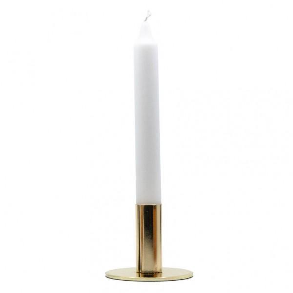 Kerzenhalter - klassisch, Metall, schwarz o. gold