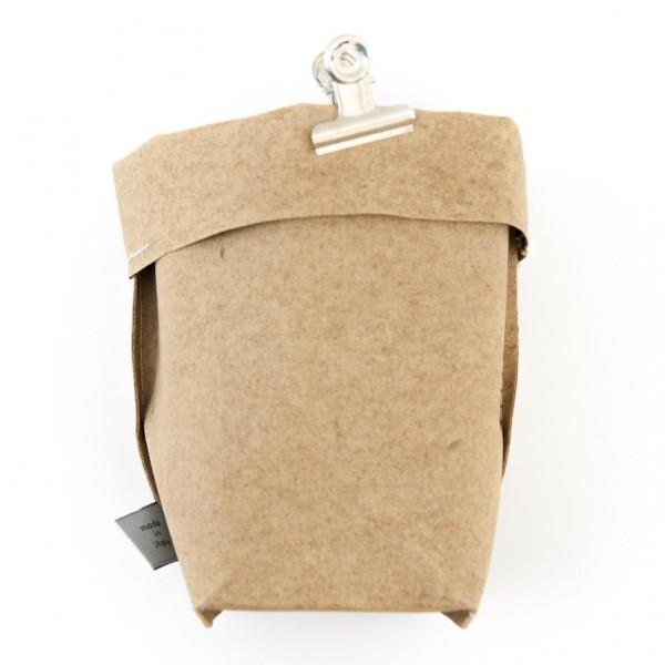 Deko Beutel - recyceltes Leder, 2 Varianten