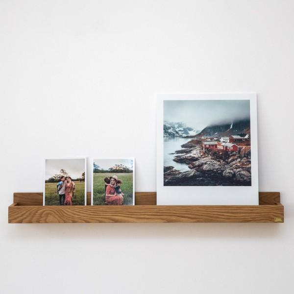 Wandablage - Holz (Eiche), 2 versch. Größen