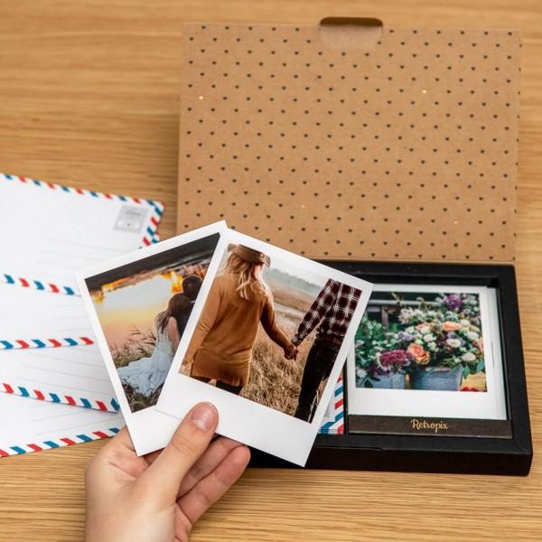 Box mit Umschlägen - für Polaroid Bilder
