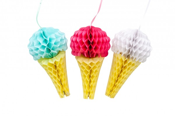 Paper Decoration ICE CREAM