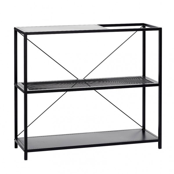 Metal Shelf Black