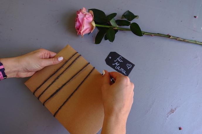 DIY-Geschenkverpackung-Kordel