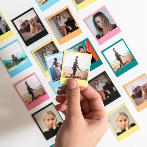 Polaroid Bilder Mini - 4x4,8 cm, Fotokarton