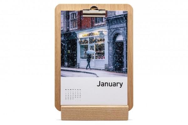 SET Clipboard Calendar & Holder