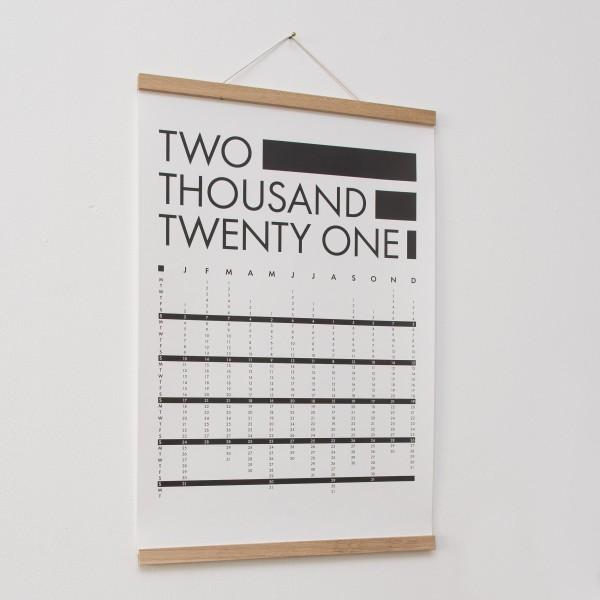 Poster Kalender - DIN A2, Naturpapier