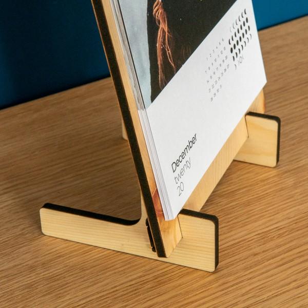 Clipboard Kalender - DIN A5, Zirbe