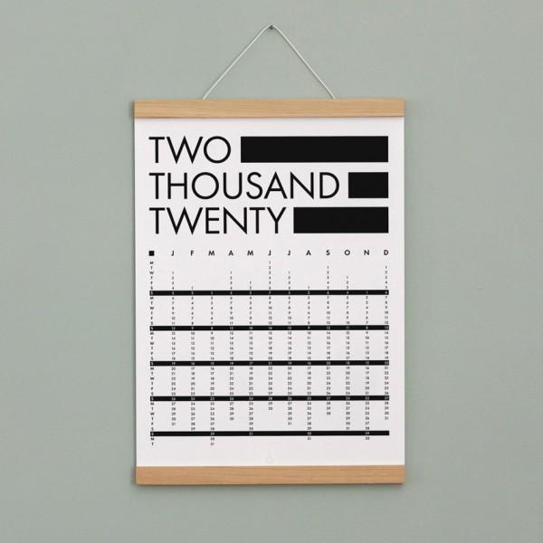 Poster Kalender - DIN A3, Naturpapier