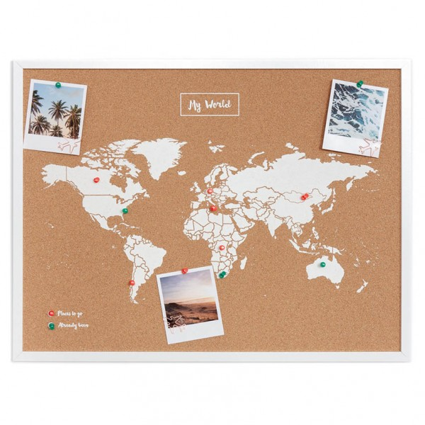 Pinboard CORK World Map