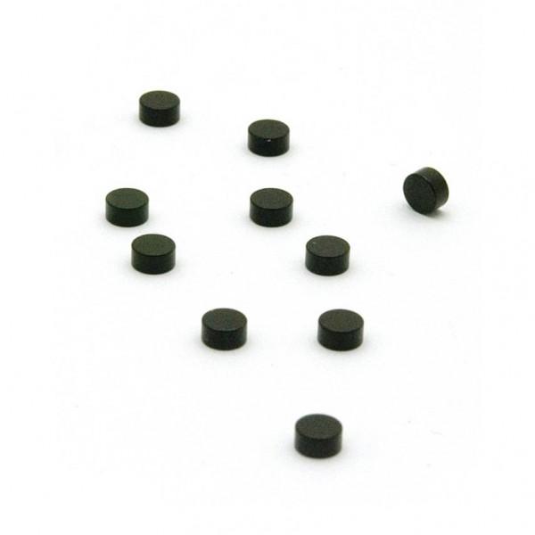 Magnete Steely - 10er Set, runde Minimagnete