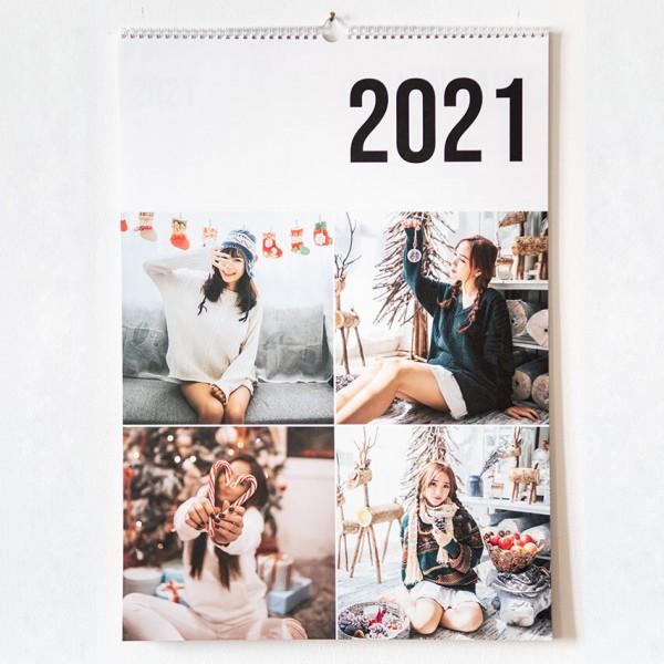 Wandkalender Termin - DIN A2, Naturpapier