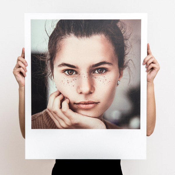 Polaroid Wandbilder XXL - Fotoplatte