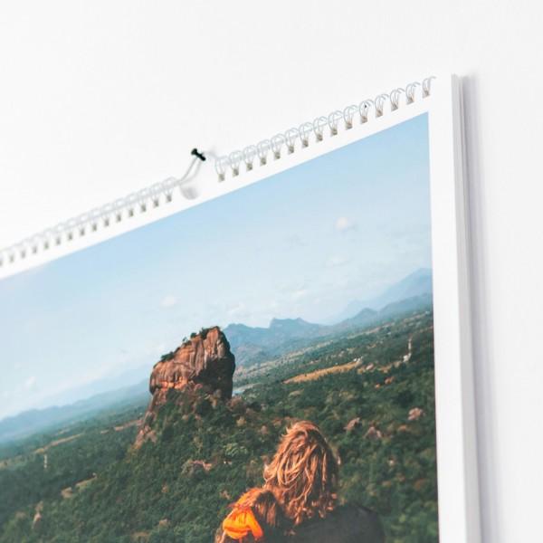 Wandkalender Termin - DIN A3, Leinenpaier