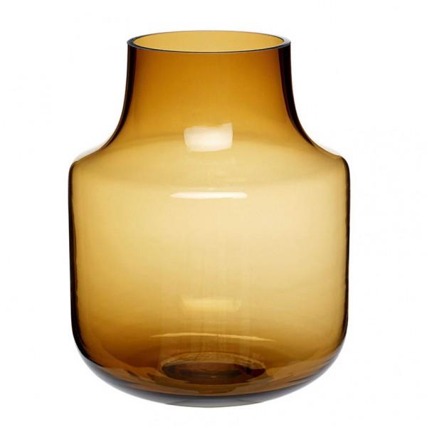 Vase - Glas, braun, 2 verschiedene Größen