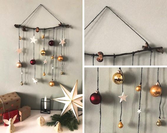 Weihnachten-DIY-Ideen-Wanddeko-Zweig