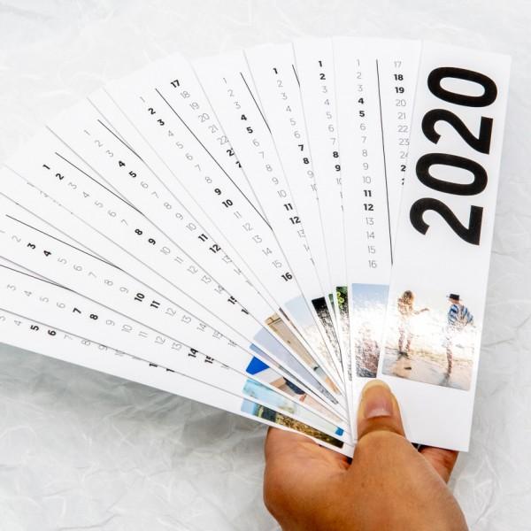 Fotostreifen Kalender