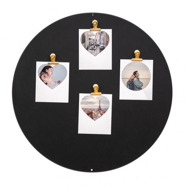 Magnettafel - Kreis, inkl. 10 Mini-Magnete