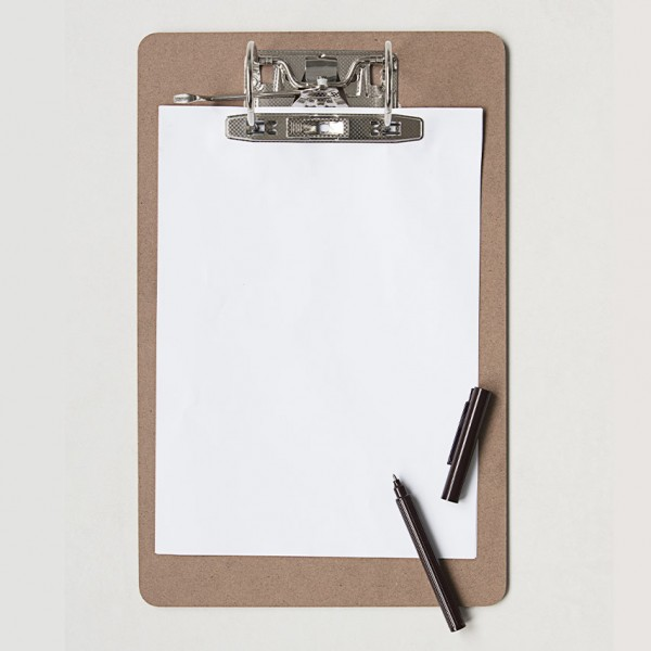Clipboard - für Format DIN A4