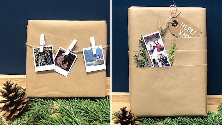 Geschenkverpackung-geschenke-verpacken-ideen-basteln-selbermachen-fotos-polaroid