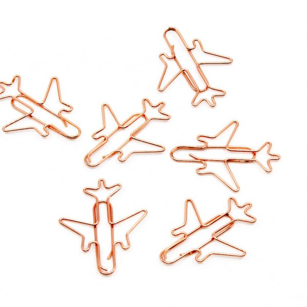 Paperclips AIRPLANE